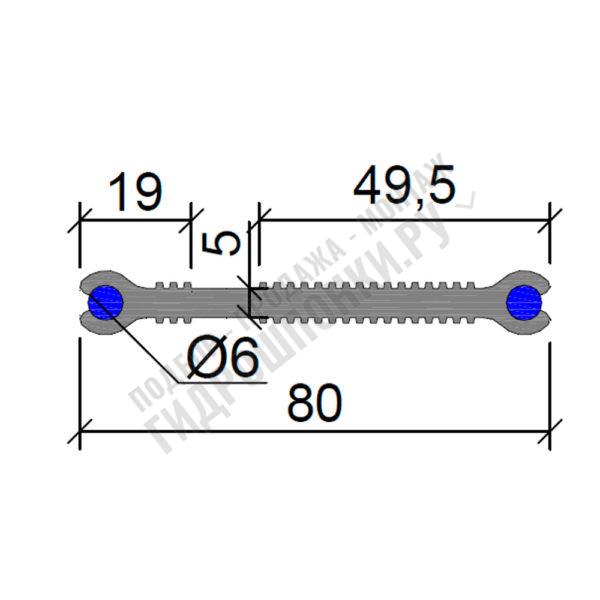 Гидрошпонка-Аквастоп-ХВН-80-(2х6)-ПВХ