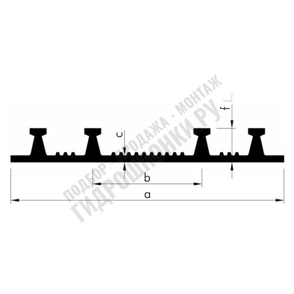 Гидрошпонка-Elastoflex-А-250-2