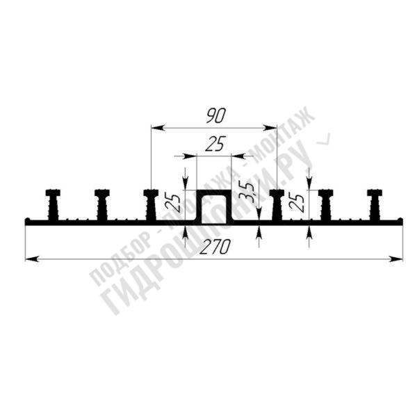 Гидрошпонка-Гидроконтур-ЦДР-270К25-1