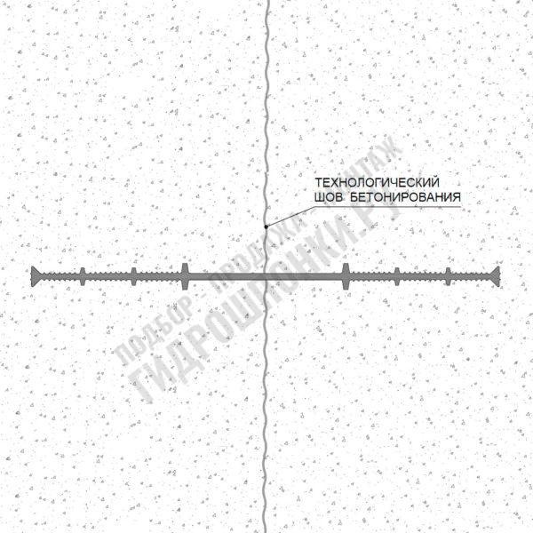Гидрошпонка-ХВ-монтажная-схема