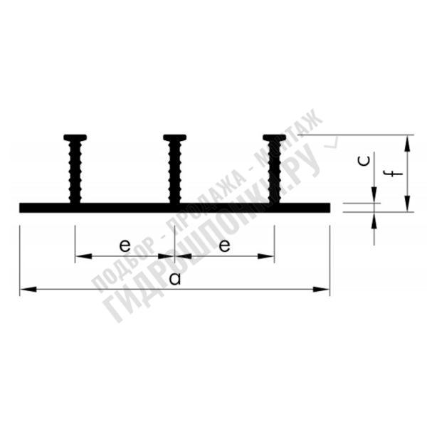 Гидрошпонка-Nitriflex-FAPN-60